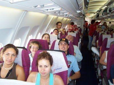 viajar en avion sin miedo