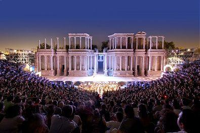 Resultado de imagen de imagen teatro romano de merida