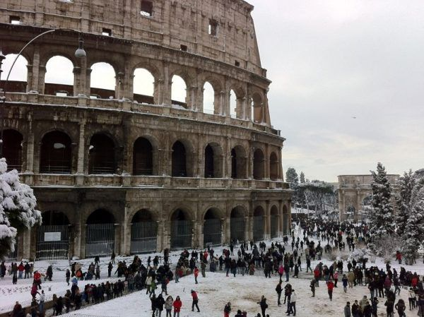 coliseo nevado