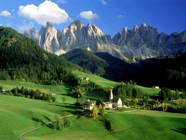 Los Dolomitas italia