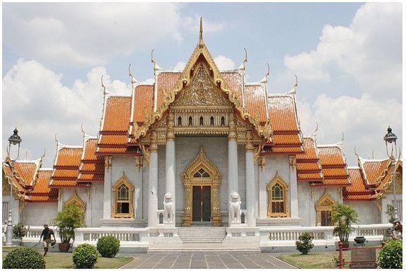 Bangkok Templo de Mármol