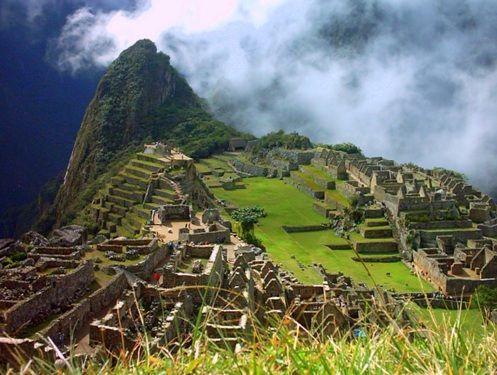 Las ruinas de Machu Picchu, en Perú