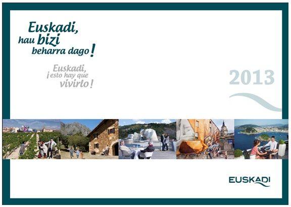 Euskadi 2013. Vive experiencias