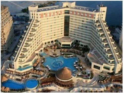 hoteles de lujo que tiene Cancún es el Be my meliá