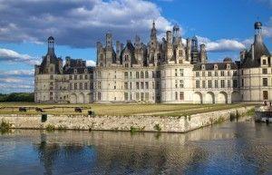 Castillo de Chambord, en el Valle del loira, francia