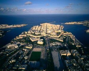 La capital de Malta, la Valleta