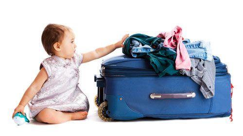consejos al viajar con bebes