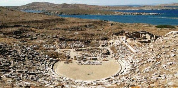 La isla de Delos - Grecia