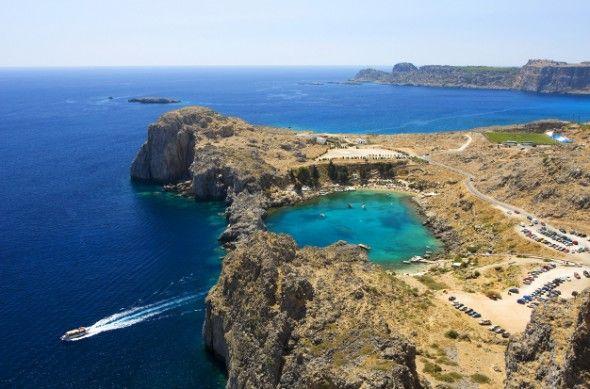 la isla de Rodas - Grecia