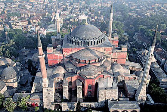 La iglesia de Santa Sofía - Estambul