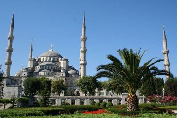 la Mezquita Azul - Estambul