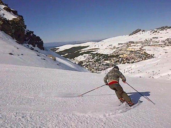 Esqui en Sierra Nevada