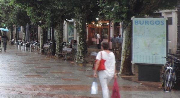 Paseo Espolon en Burgos