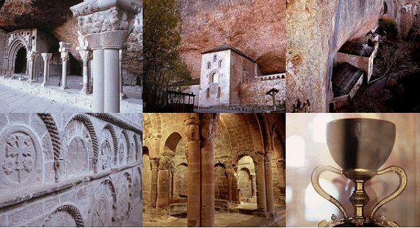 Visita el Monasterio de San Juan de la Peña