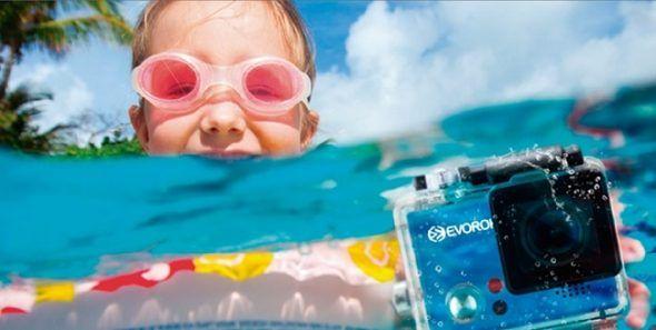 Viajar con Cámara Deportiva para Agua