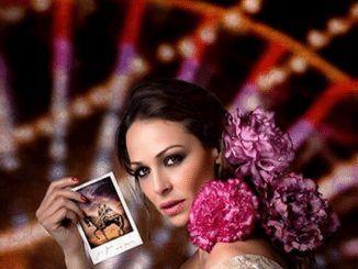 Eva González Imagen de la Feria de Abril en Mairena del Alcor