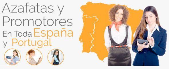 Azafatas en España y Portugal