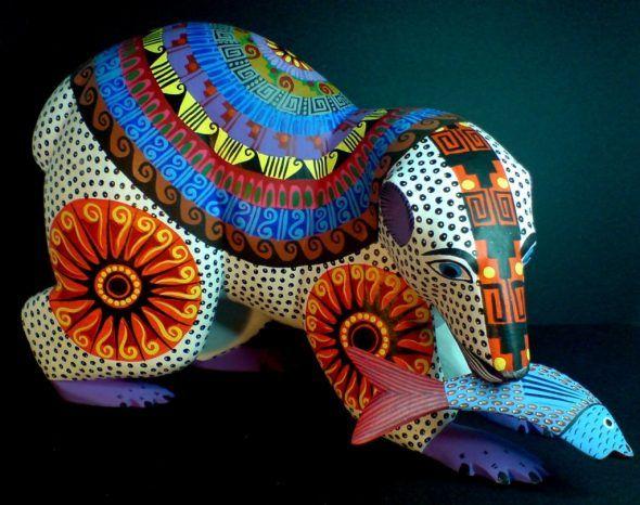 Alebrijes y otros artilugios multicolores