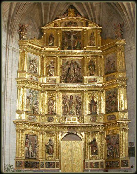 Retablo Parroquia de Santiago el Real