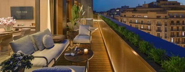 Terraza The One Barcelona