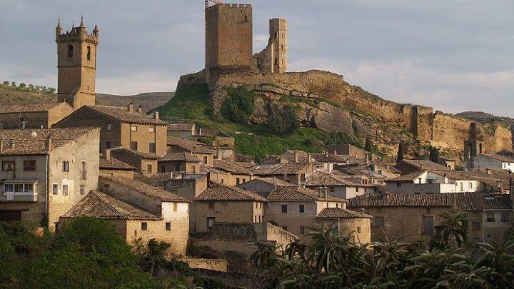 El Encanto del Castillo de Uncastillo en Aragón